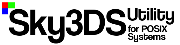 Sky3ds Utility for POSIX systems